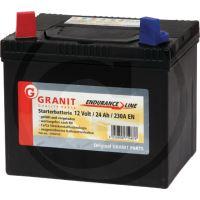 Bezúdržbová baterie Endurance Line 12V 24Ah + - do zahradních sekaček 195 x 130 x 183 mm