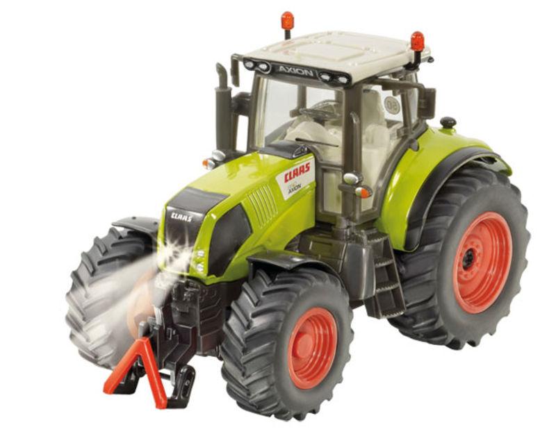 Siku - traktor Claas Axion 850 sada s dálkovým ovládáním