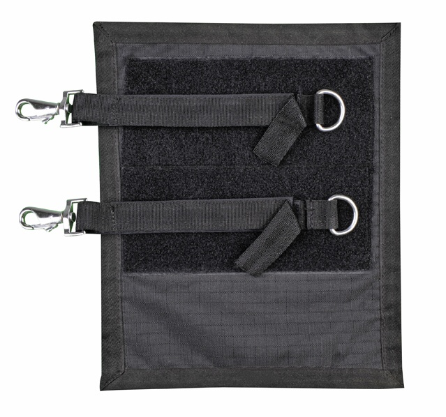 Prsní chránič HKM na deky pro koně černý