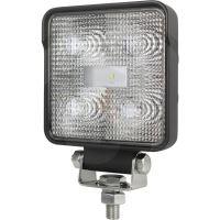 LED pracovní světlomet hranatý 5 High Performance LEDs  12V a 24V