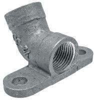 """Držák napájecího ventilu 1/2"""" sklon 15°"""