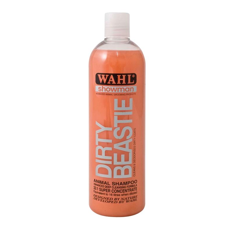 Šampón na psy WAHL Dirty Beastie koncentrát 32:1 na špinavou a zacuchanou srst 500 ml