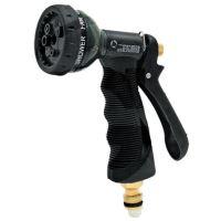 Multifunkční pistole, sprcha na zalévání na zahradní hadici na vodu mosazný přípoj