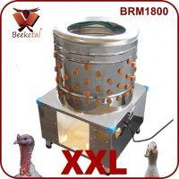 Škubačka drůbeže bubnová BEEKETAL BRM 1800 na kuřata, kachny, husy, krůty 157 prstů