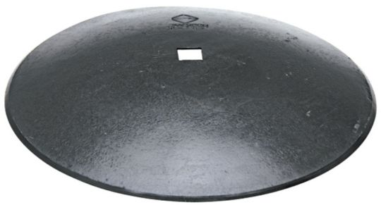 Hladký disk diskové brány průměr D=610 mm, tloušťka S=6 mm