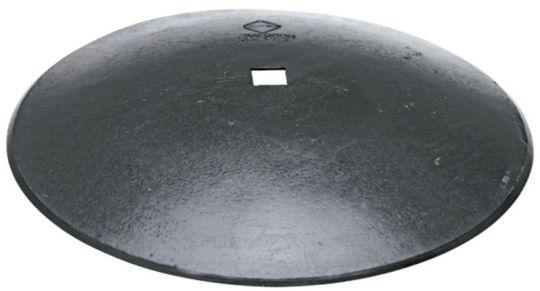 Hladký disk - k montáži na čtyřhrannou hřídel, průměr D=660 mm, tloušťka S=6 mm