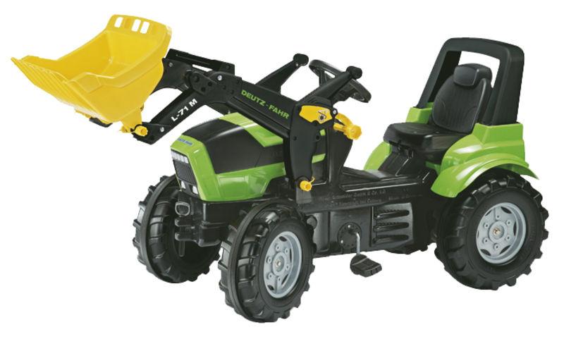Rolly Toys - šlapací traktor s čelním nakladačem Deutz Agroton Lader Rolly FarmTrac