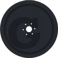 Výsevní disk vhodný pro Lemken Solitair, Saphir, Compact-Solitair bez ložiska