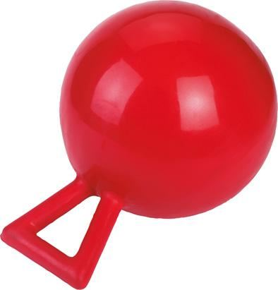 Hrací míč pro koně červený