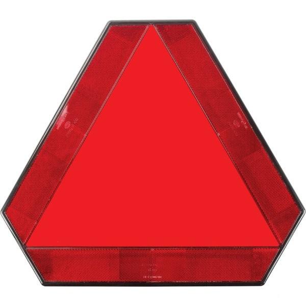 Varovný trojúhelník pro pomalu jedoucí vozidla a přívěsy plastový s držákem