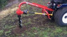 Vrták průměr 15 cm pro půdní vrták za traktor ROTOMEC