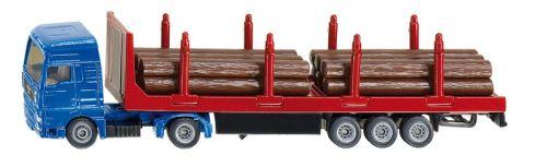 Siku - kamion na přepravu dřeva 1:87