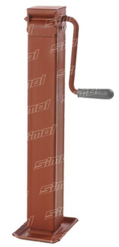 Opěrná noha pod návěs Simol nosnost 1500 kg s boční klikou