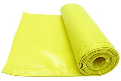 Ochranná plachta na žací lišty řezaček žlutá šířka 470 mm