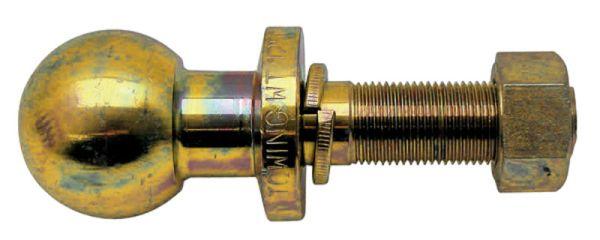 Kolík s kulovou hlavou K50 pro spodní závěs třetího bodu pro tažnou lištu závit 7/8 UNF