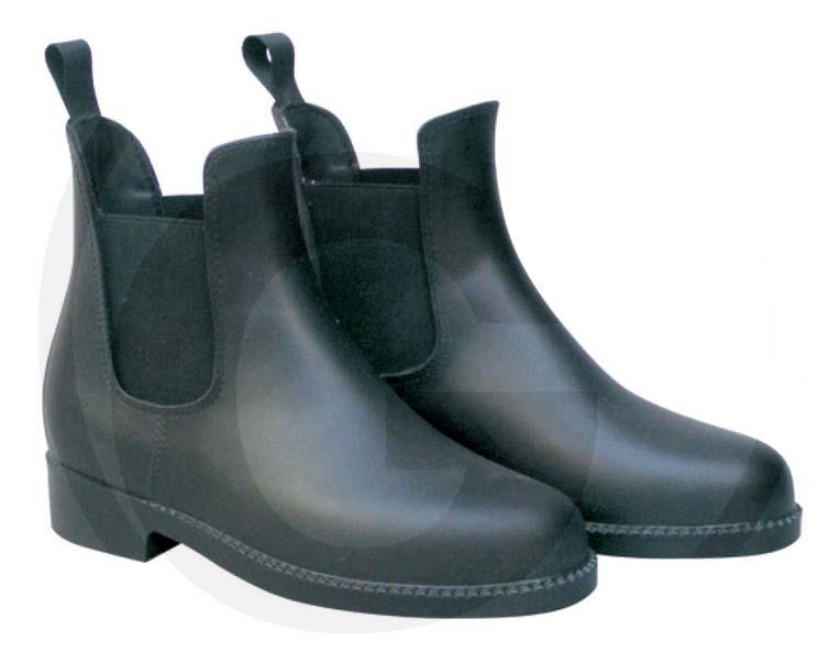 Nízké jezdecké boty - jezdecká perka velikost 44