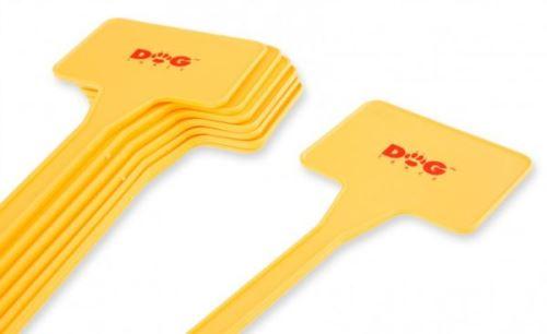 Plastové terčíky na označení zakázaných zón pro elektronický ohradník
