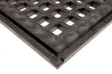 Kvalitní výběhová rohož plastová zámková zátěžový rošt 80 cm x 60 cm x 4,3 cm