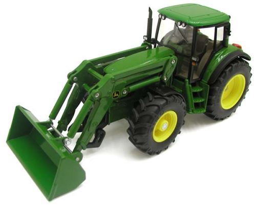 Siku - traktor John Deere 6820 s čelním nakladačem 1:32
