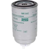 MANN FILTER WK842 palivový filtr vhodný pro BCS, Case IH, Claas, Deutz-Fahr, Fendt, Fiat