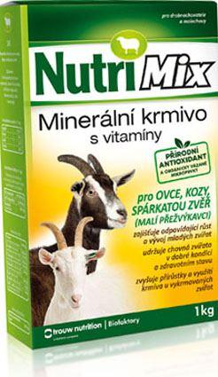 Nutrimix pro ovce, kozy, spárkatou zvěř - doplňkové minerálně vitamínové krmivo 1 kg