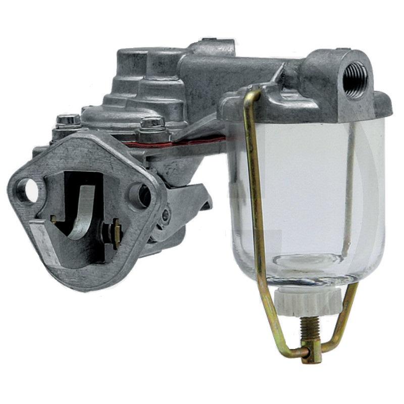 Membránové palivové čerpadlo s předfiltrem vhodné pro Claas, Eicher, Landini, MF, Partner