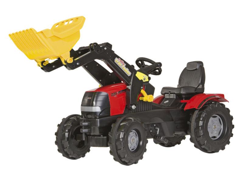 Rolly Toys - šlapací traktor s čelním nakladačem Case Puma CVX 225 vzduchové pneumatiky