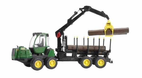Bruder - lesnický stroj - John Deere JD Forwarder
