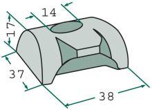 Svorka pera pro obraceče vhodné pro Claas W 360 / WAS 360, W 450 / WA-S 450, W 540