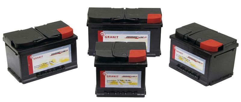 Startovací baterie Granit Endurance Line Multi 12V/62 Ah
