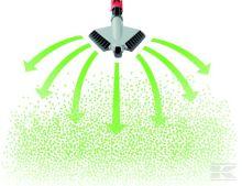 Ruční rozmetadlo posypového písku, soli, průmyslových hnojiv Birchmeier Granomax 5