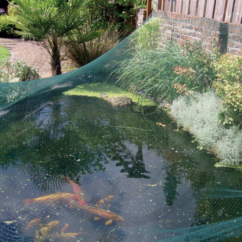 Fotografie Síť na ochranu zahradních jezírek 4 x 5 m