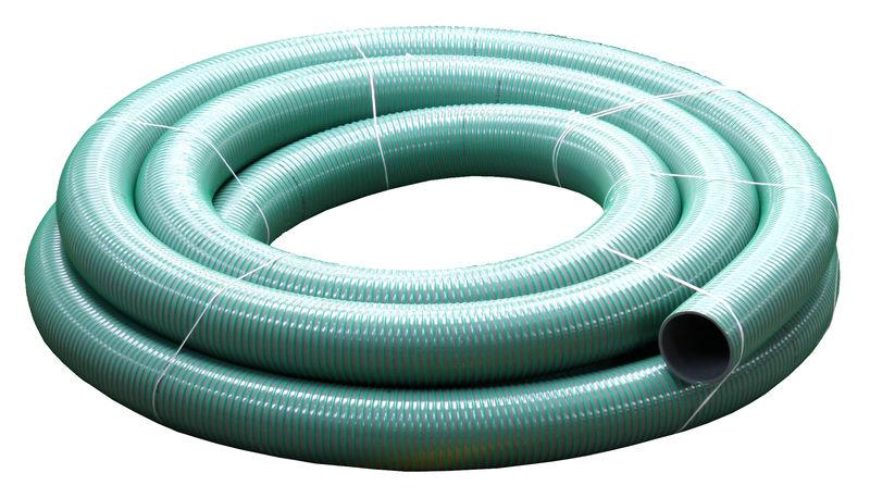PVC spirálová a tlaková hadice pro fekální vozy vnitřní průměr 110 mm