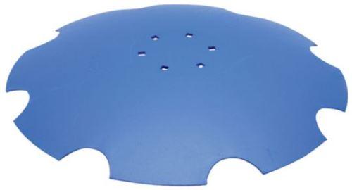Ozubený disk vhodný pro Lemken Rubín - průměr D=610 mm, tloušťka S=6 mm