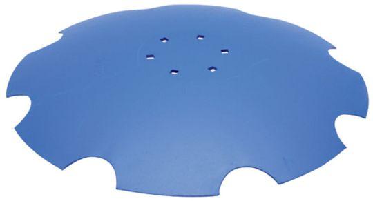 Ozubený disk diskové brány vhodný pro Lemken Rubín - průměr D=610 mm, tloušťka S=6 mm