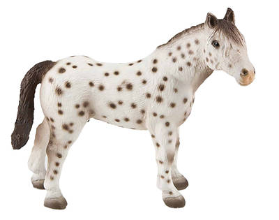 Bullyland - figurka knabstrupský hřebec