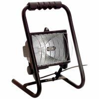 Halogenový pracovní reflektor 400W s trubkovým rámem a bezpečnostním krytem