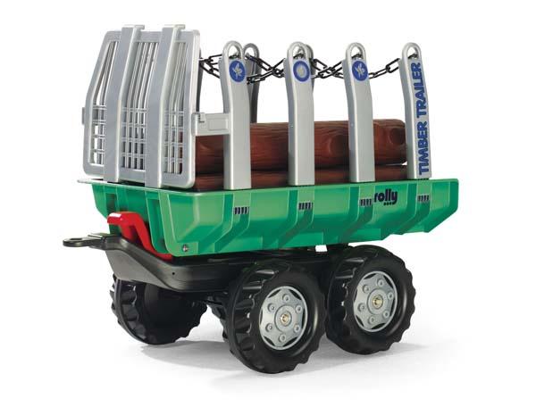 Rolly Toys - přívěs na přepravu dřeva