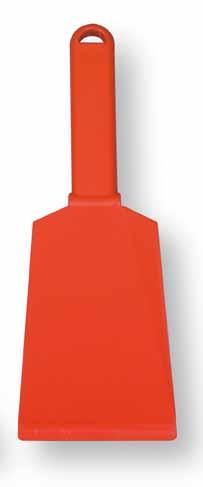 Plastová škrabka na trus na čištění kurníků, holubníků, voliér šířka 75 mm