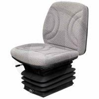 Traktorová sedačka Standard vzduchové odpružení, textilní potah