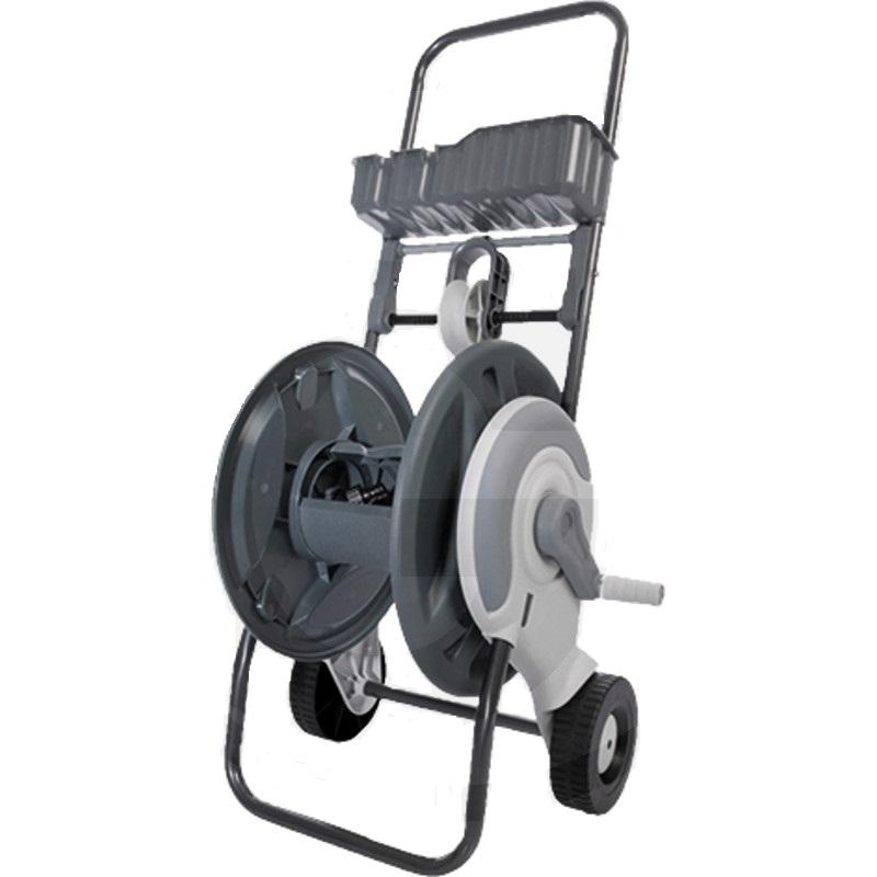 """Hadicový vozík na zahradní hadici 1/2"""" 60 m nebo 3/4"""" 30 m 2 kohoutkové přípoje"""