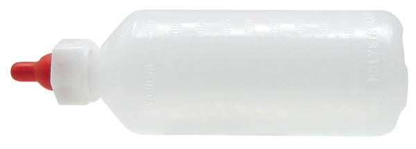 Fotografie Napájecí láhev pro jehňata a kůzlata s dudlíkem závěsná 1l