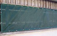 Protiprůvanová síť 10 x 3 m rašlový úplet s ocelovými oky 90% stínění