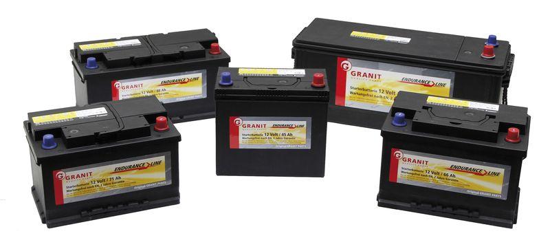 Startovací baterie Granit 12V / 60 Ah