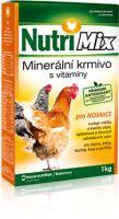 Nutrimix pro nosnice, vitamíny pro slepice, krůty, kachny, husy, perličky 1 kg