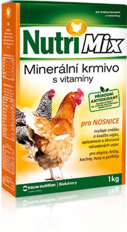 Nutrimix pro nosnice, vitamíny pro slepice, krůty, kachny, husy, perličky 20 kg