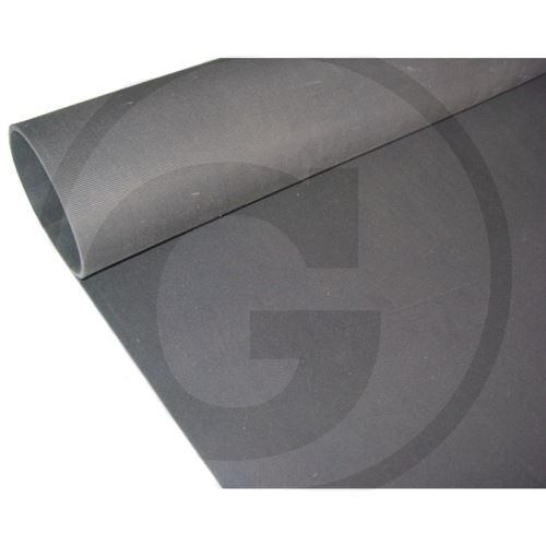 Gumová rohož hladká do přepravníku, guma do přívěsu pro koně 3000 x 1650 mm tloušťka 6 mm