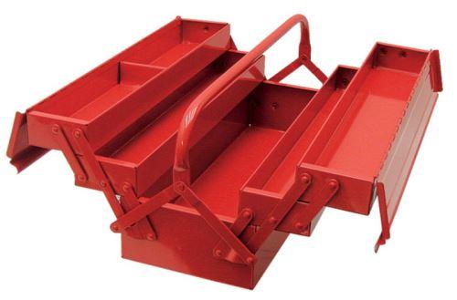 Box na nářadí kovový