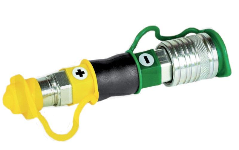 Kontrolka tlaku hydraulického oleje - samec