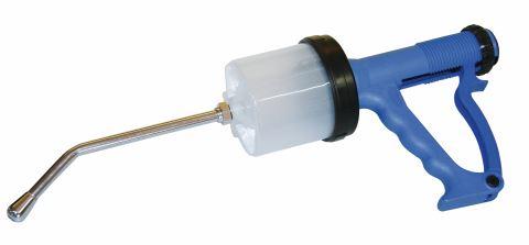 Perorální aplikátor léčiv (drencher)
